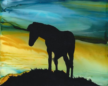 Lynne Tosby Horse Silhouette