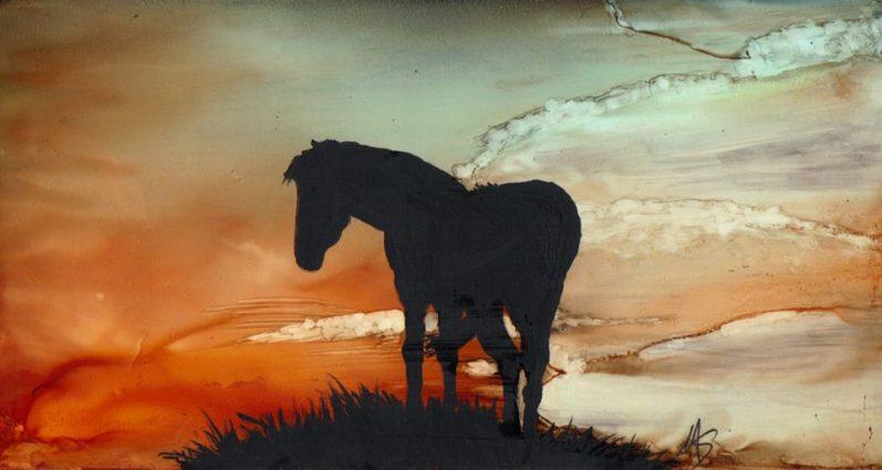 Maureen Sousa Horse Silhouette