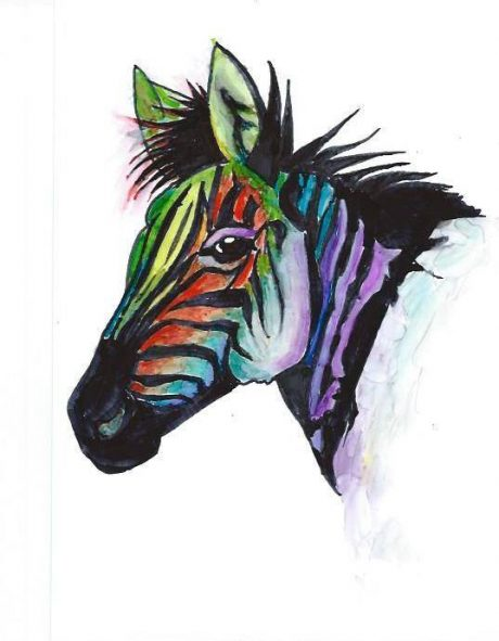Sue Armstrong Swain Zebra