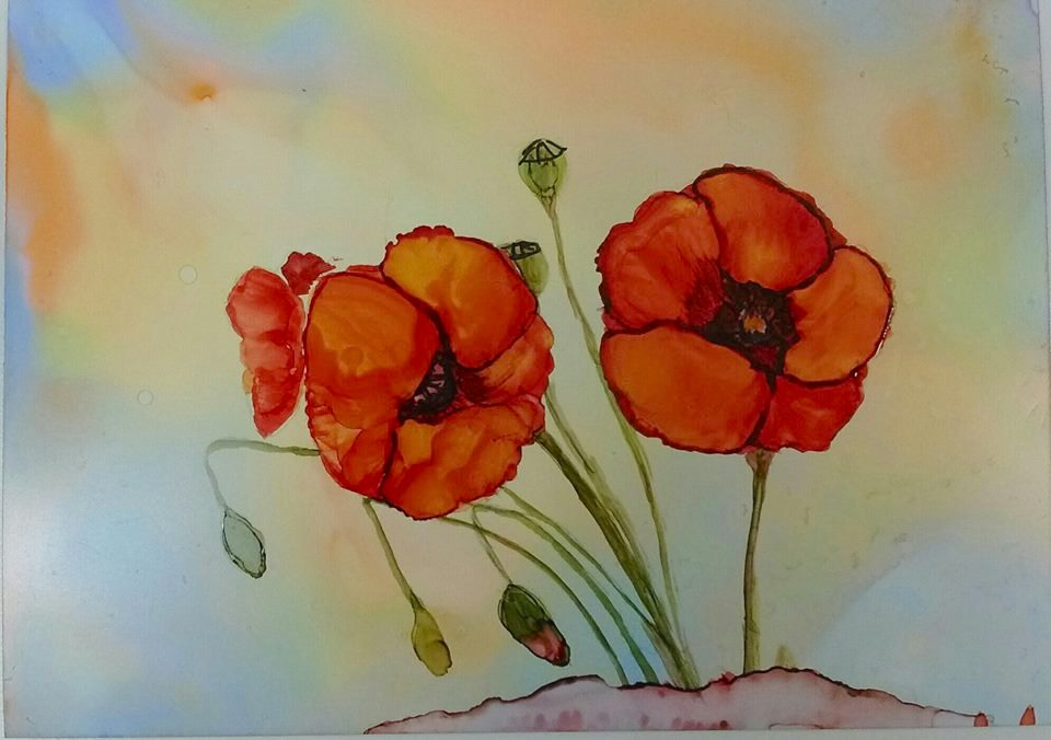Margaret Coleman Hoffman Level 1 Poppies