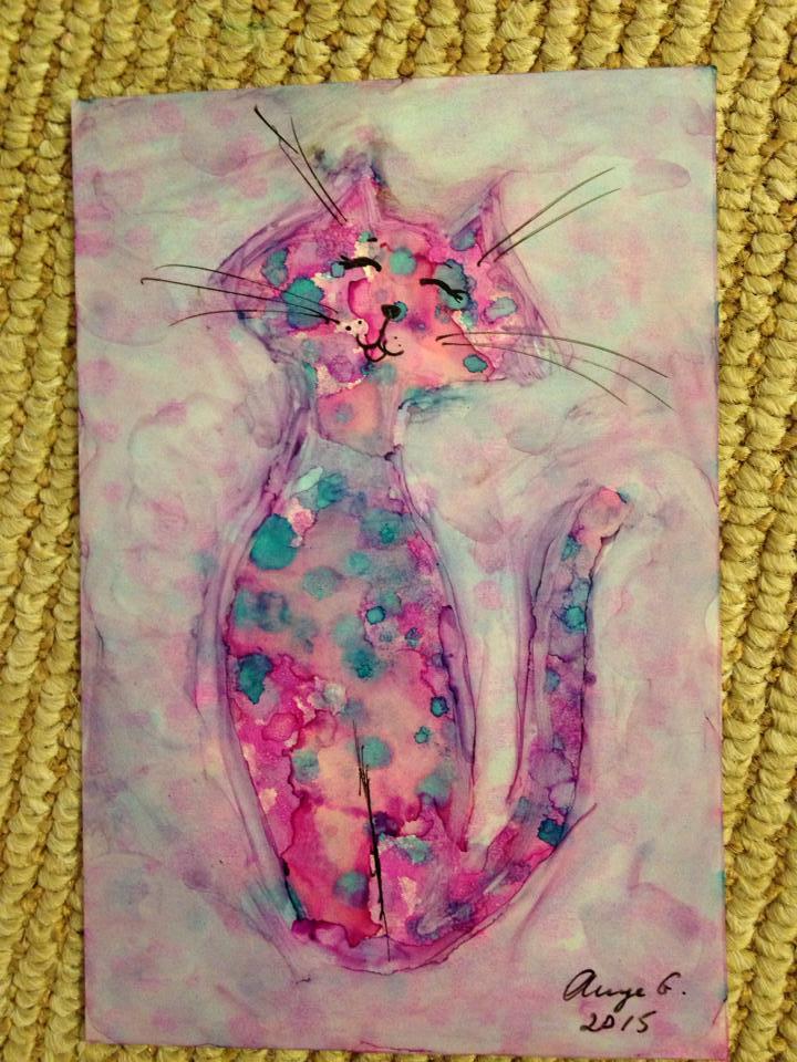 Ann Getter Happy Cat