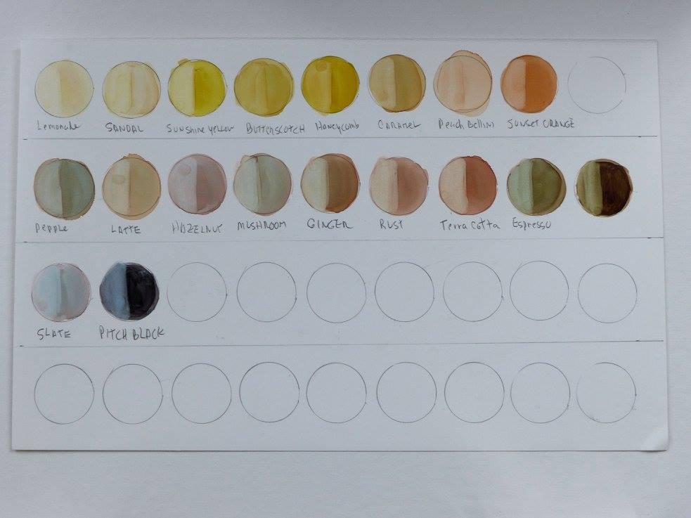 Janet Tallu Mayfield stain chart 2