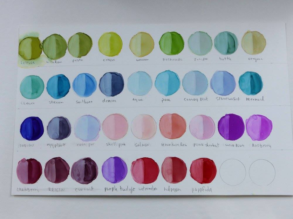 Janet Tallu Mayfield stain chart