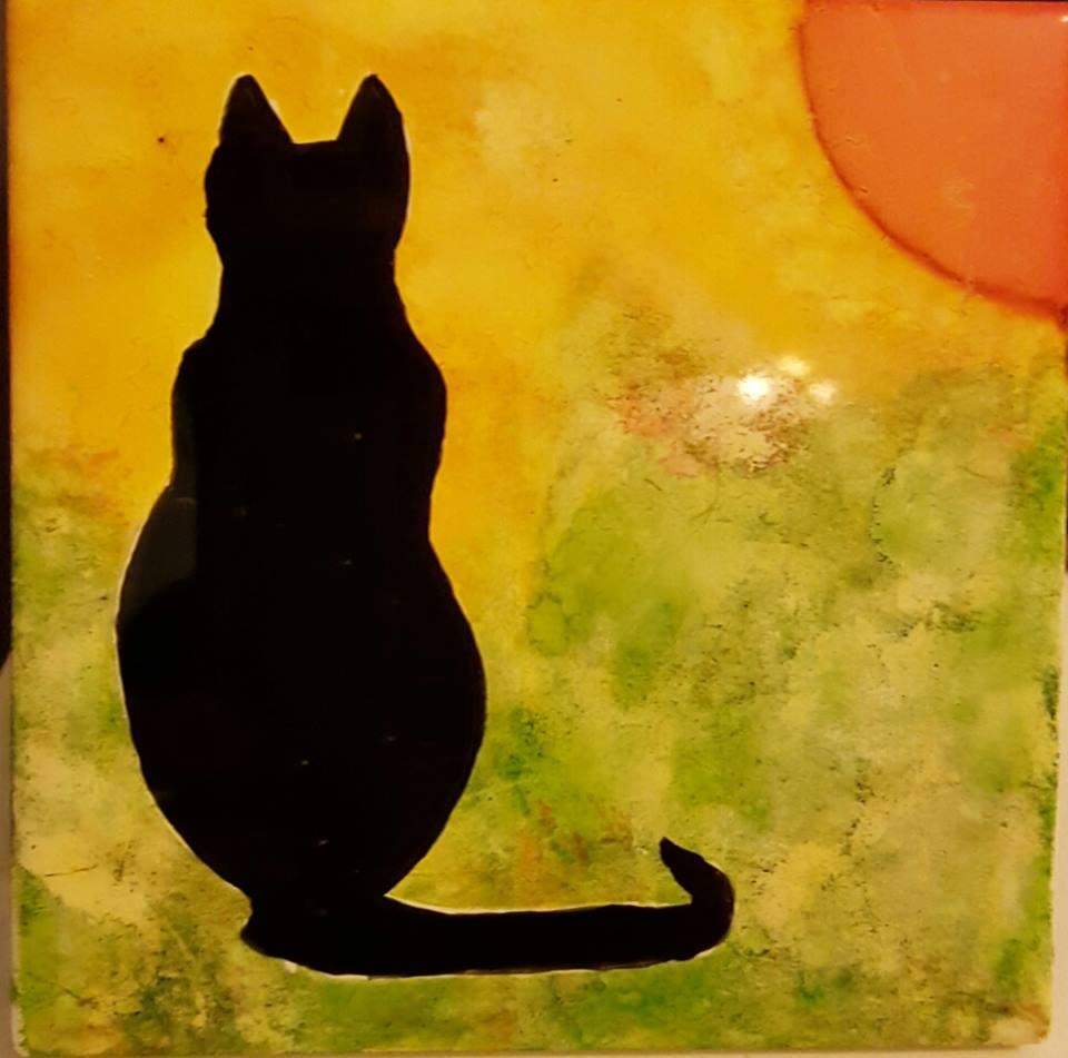 Lisa Crosby Black Cat