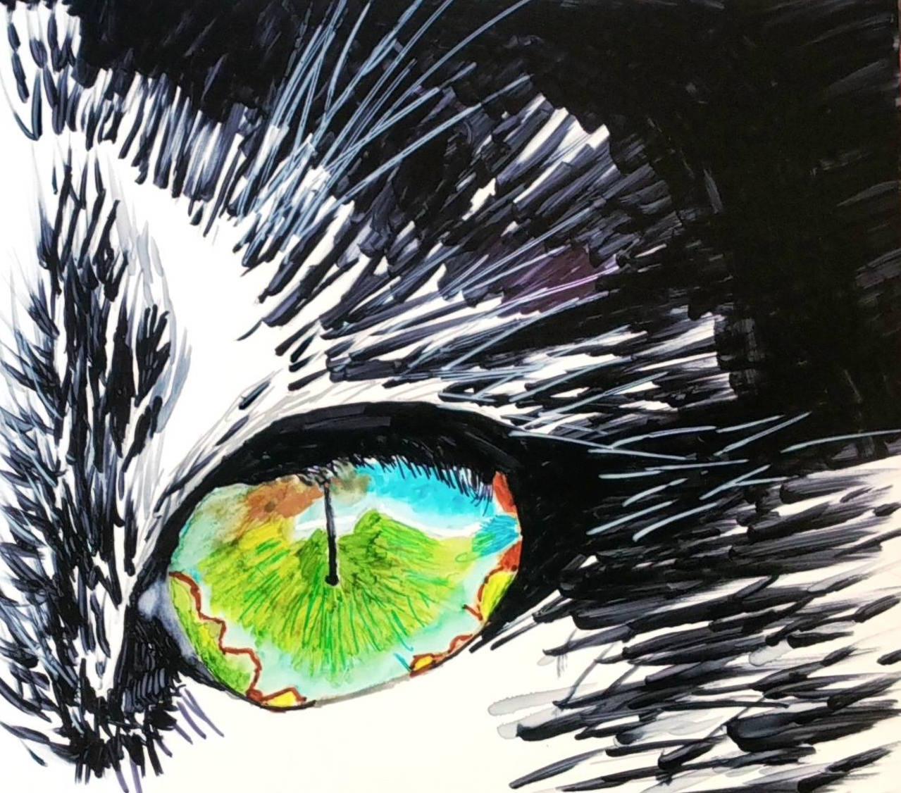 GinnyMcCartha-Smith Cat eye