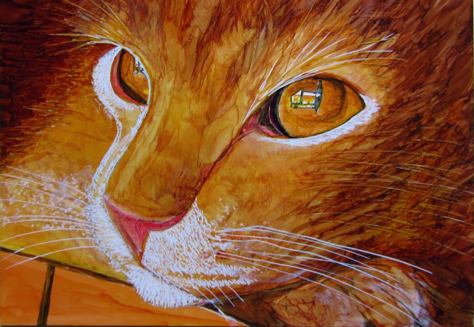 HeidiBreukerGingercat
