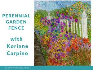 Korinne's Perennial Garden Fence